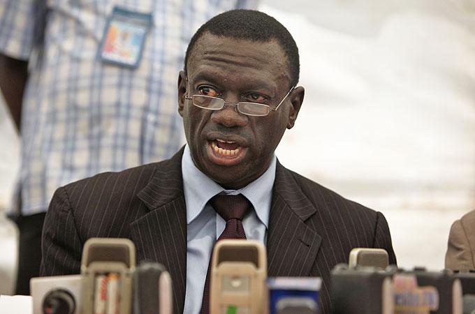 Ugandan Oposition Leader Kizza Besigye
