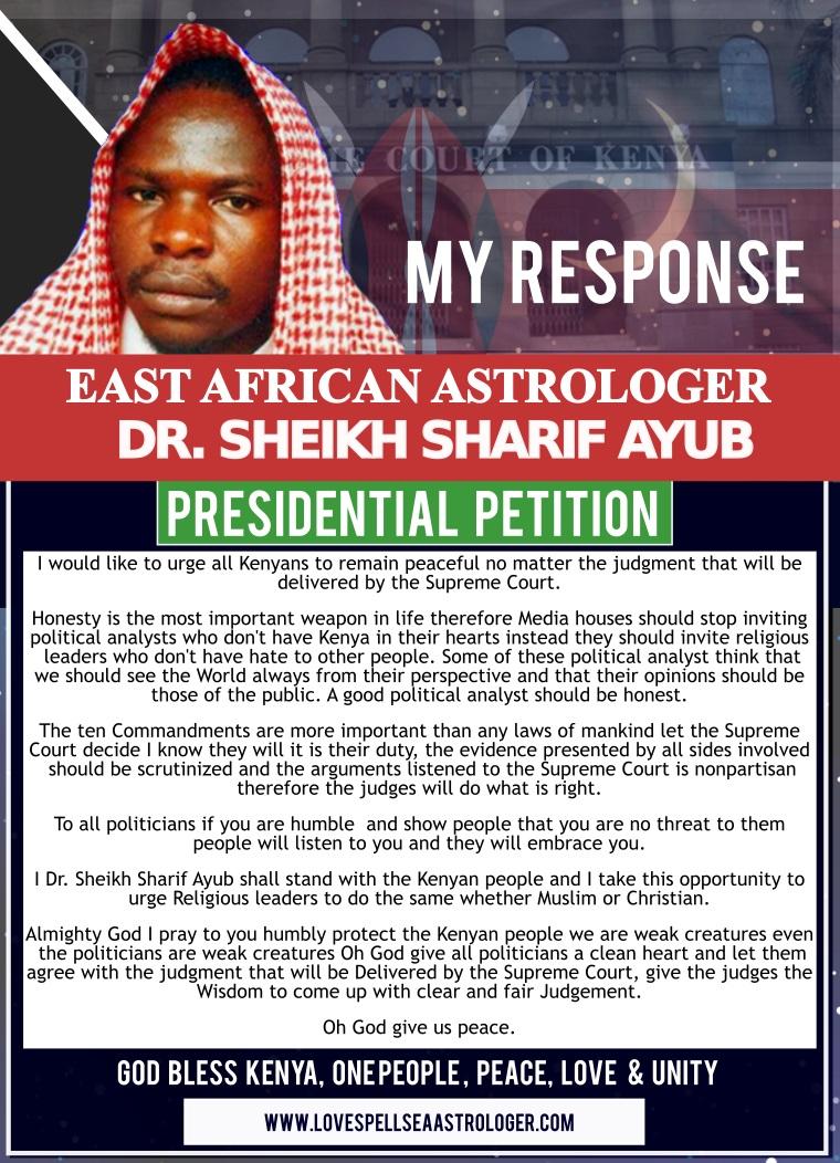 kenya presidential -petition