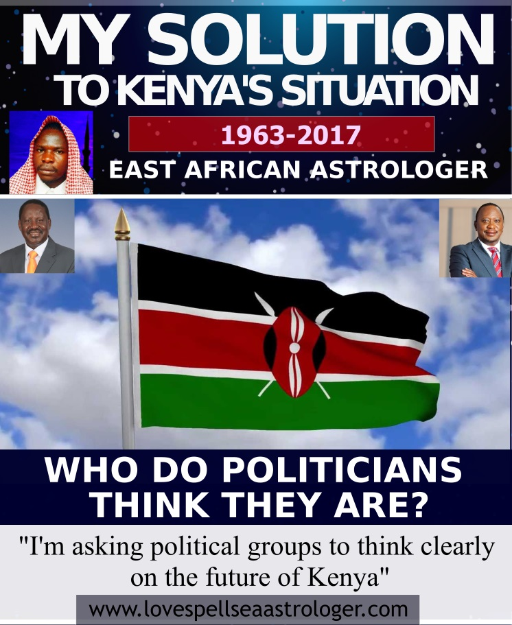 Who do Politicians Think they Are, Kenya 2017 Presidential Election Breakdown