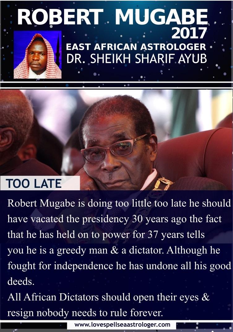 mugabe should have resigned 30 years ago