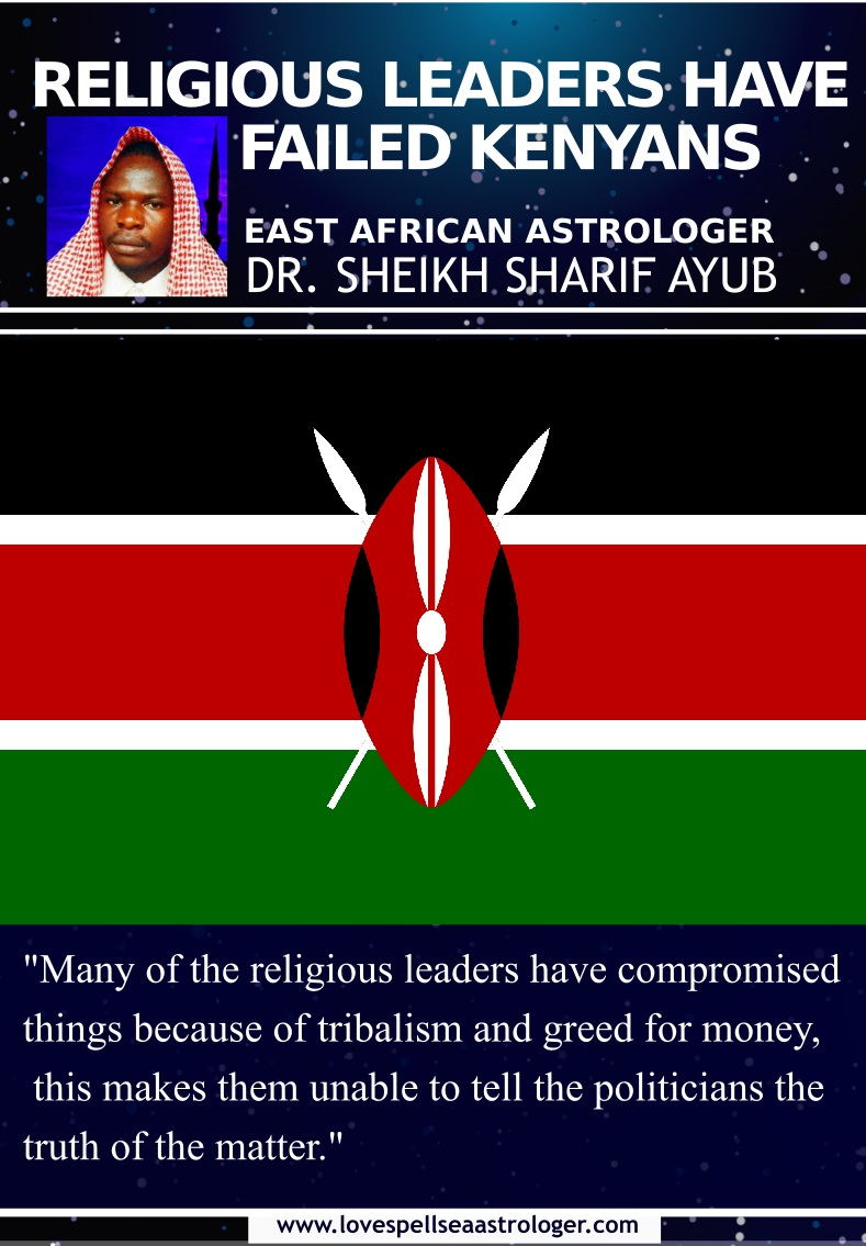 many of the religious leaders have compromised things because of tribalism and greed for money, this makes them unable to tell the politicians the truth of the matter.
