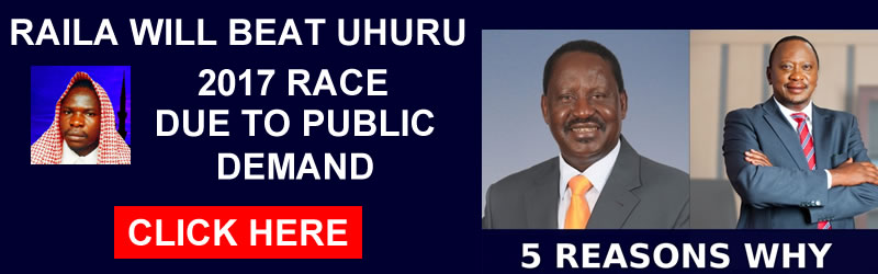 raila will win the presidency
