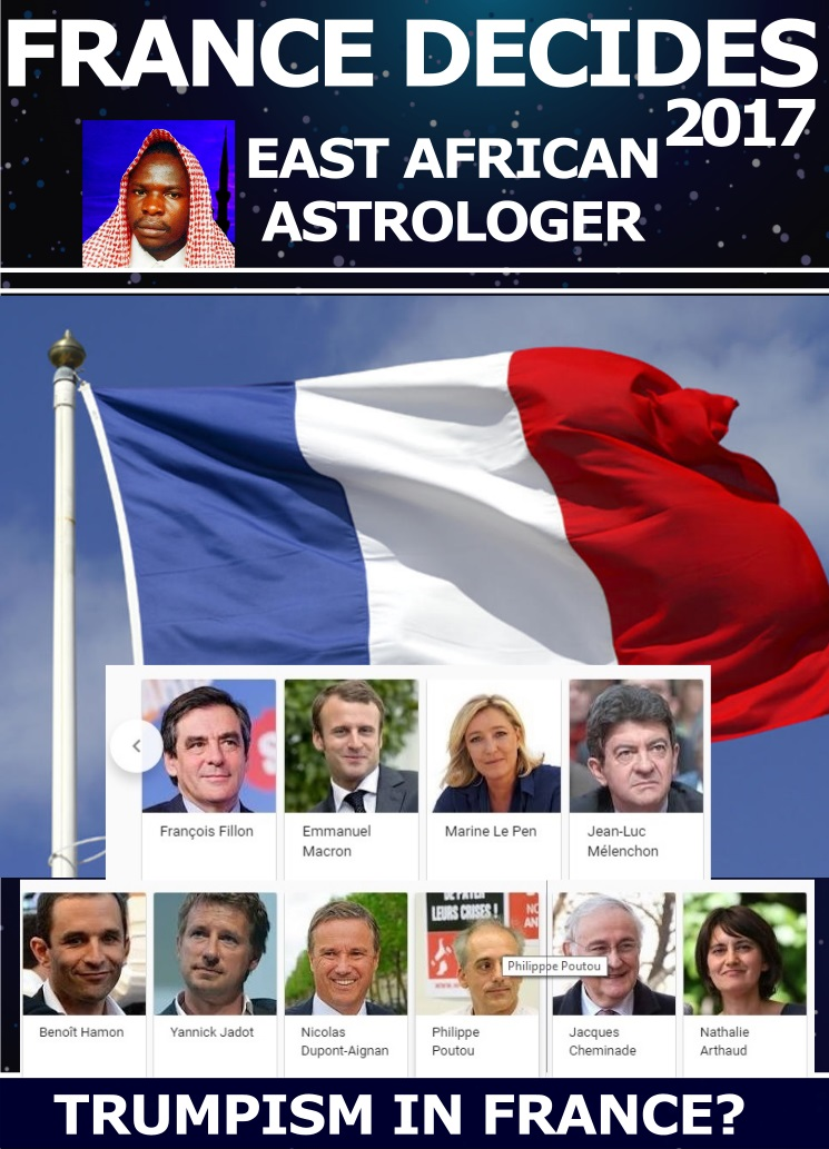 FRANCE-DECIDES-2017 -EAST- AFRICAN ASTROLOGER