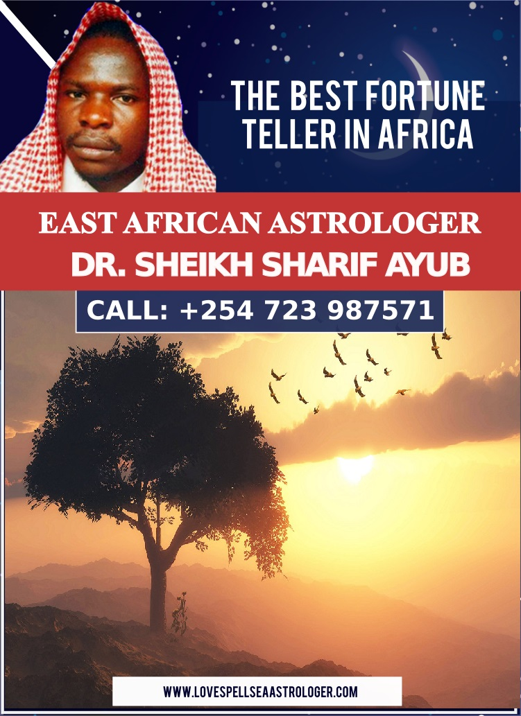 Dr. Sheikh Sharif Ayub is not afraid to tell you the truth about your future if he sees suffering he will let you know. Most fortune tellers in Africa sugar coat the truth they want to make their customers feel good instead of telling them the truth and nothing but the truth.