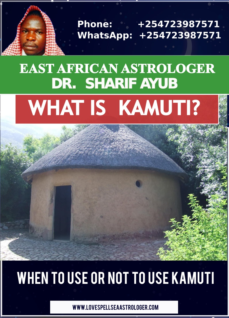 what is kamuti explained by dr. sharif ayub