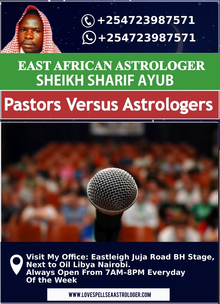 Pastors Versus Astrologers Dr. Sharif Ayub Explains