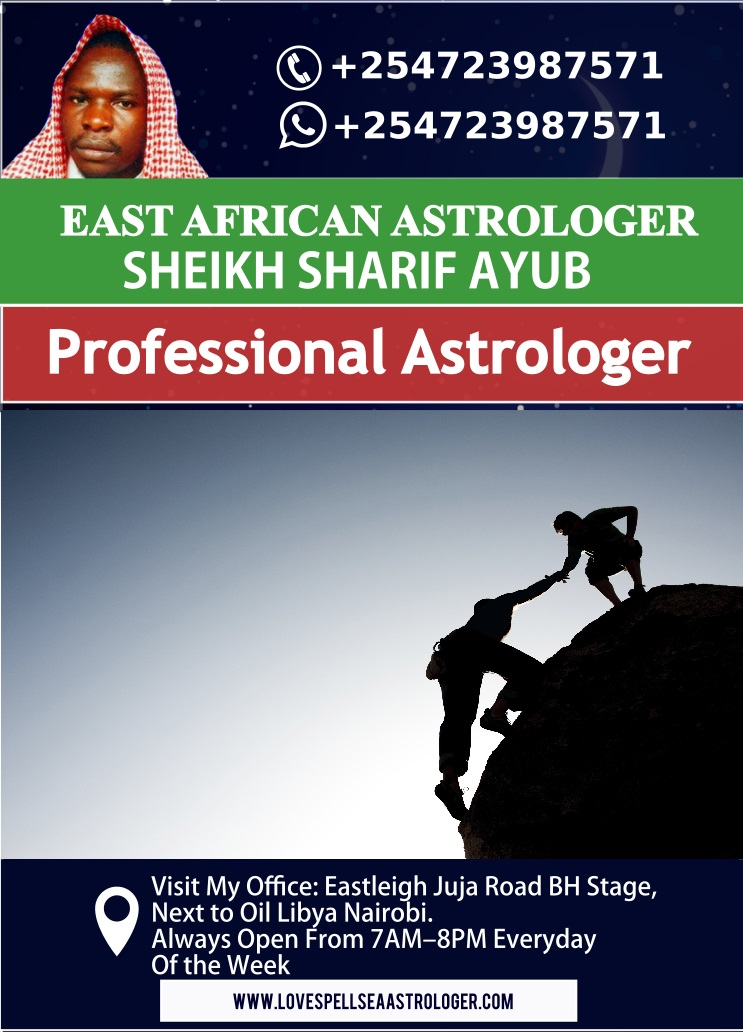 Professional Witch Doctors and Expert Astrologers in Africa living in Nairobi, Kenya