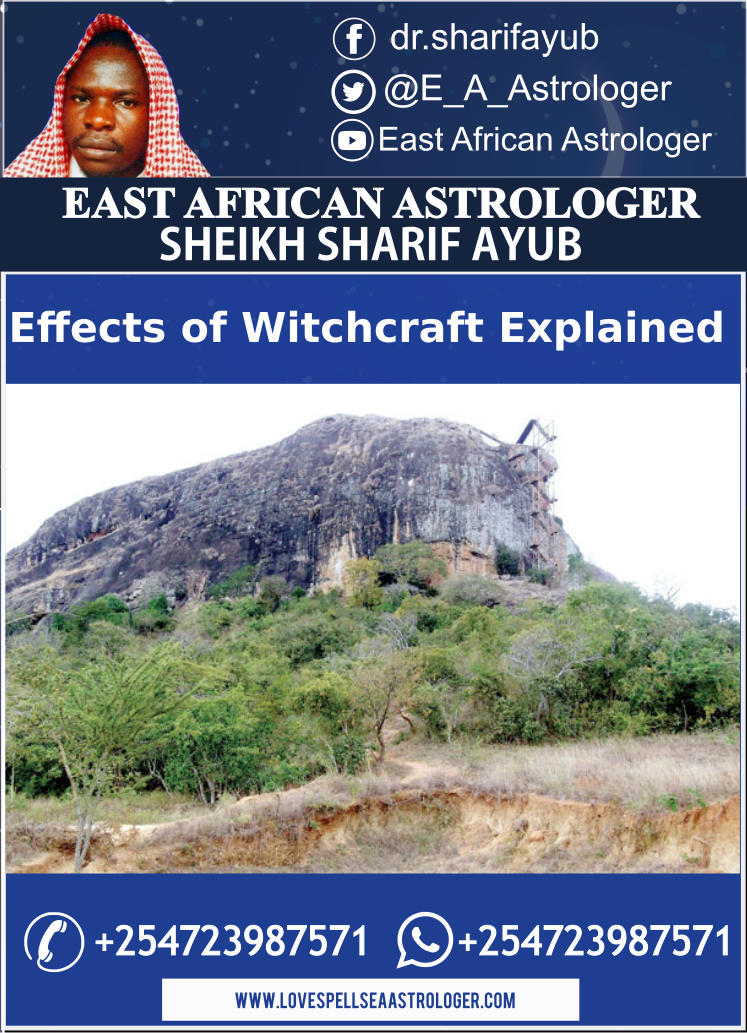 The Effects of Witchcraft in Africa Explained by Dr. Sharif Ayub