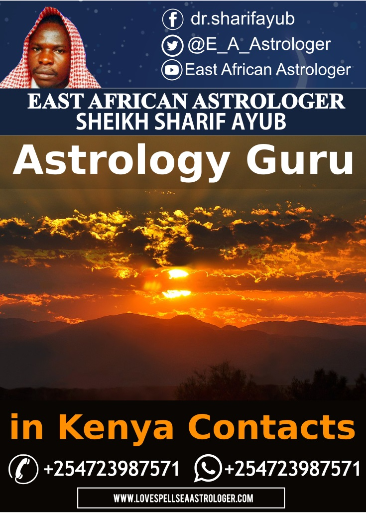 Astrology Guru in Nairobi, Kenya, East Africa, Dr. Sharif Ayub