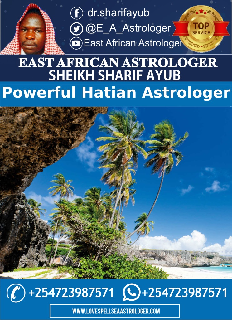 Powerful Astrologer in Haiti and the Caribbeans - Dr. Sharif Ayub