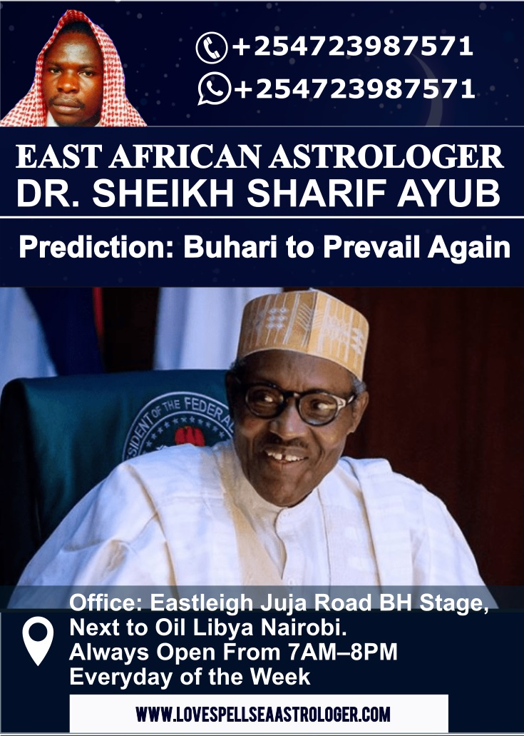 Muhammadu Buhari to Win Nigerian Presidential Elections Amid Tough Challengers Dr. Sharif Ayub Predicts