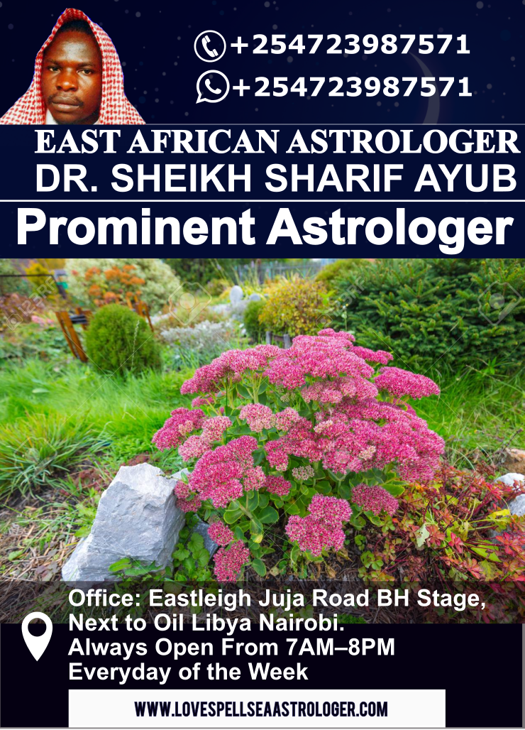 Prominent Astrologer Visiting Nairobi, Mombas and Kisumu, Kenya