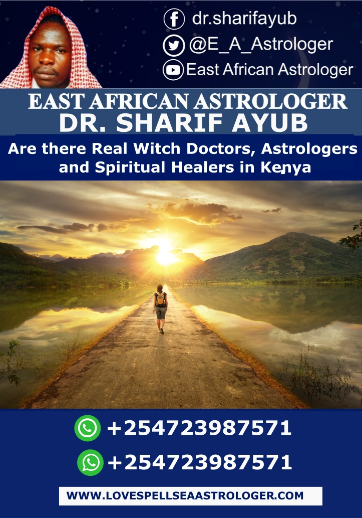 Are there Real Witch Doctors, Astrologers and Spiritual Healers in Kenya