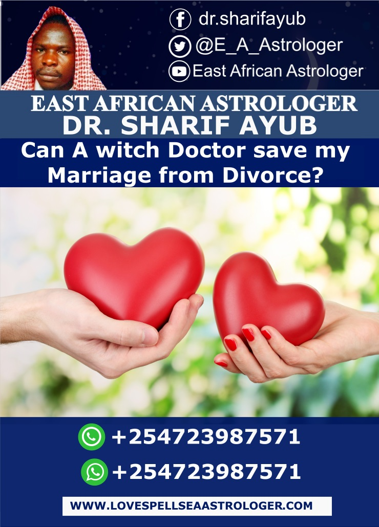 Can A witch Doctor save my Marriage from Divorce