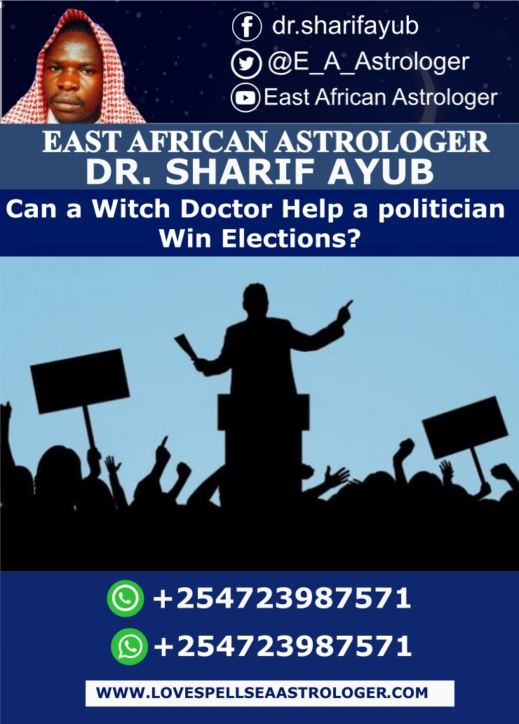 Can a Witch Doctor Help a politician Win Elections?