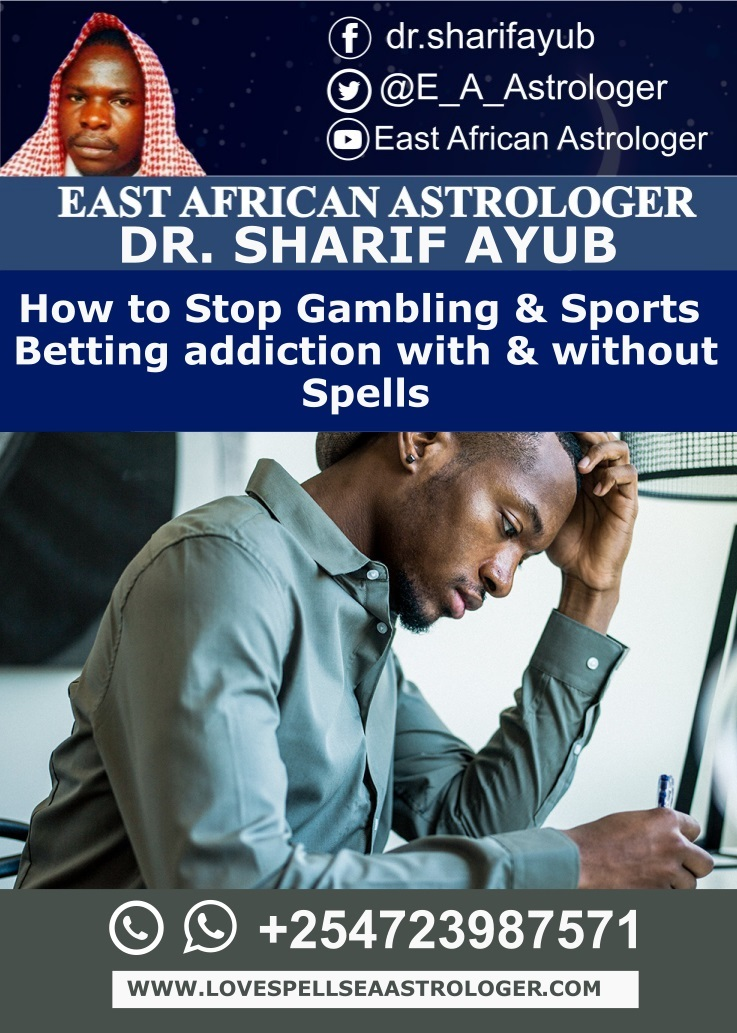 How to Stop Gambling & Sports Betting addiction with & without Spells