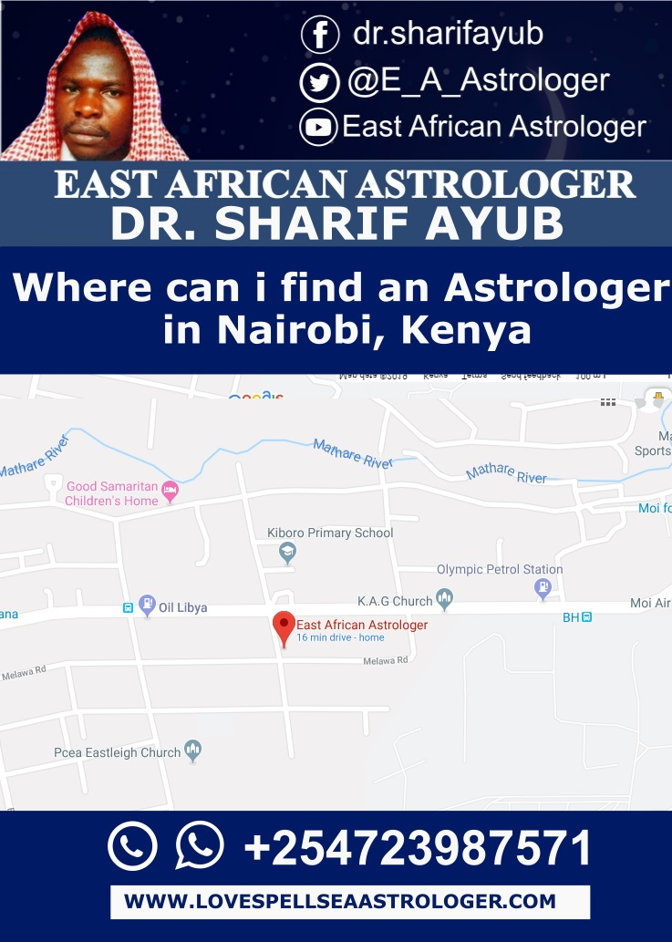 Where can i find an Astrologer in Nairobi, Kenya
