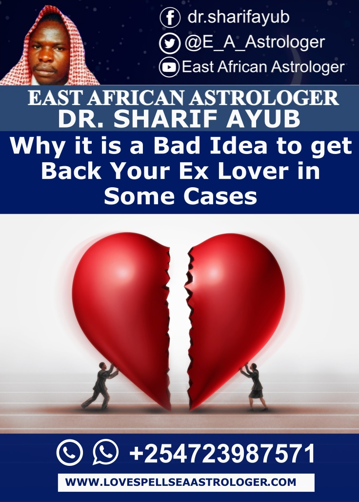 Why it is a Bad Idea to get Back Your Ex Lover in Some Cases