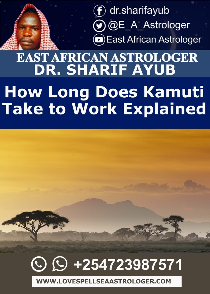 How Long Does Kamuti Take to Work Explained
