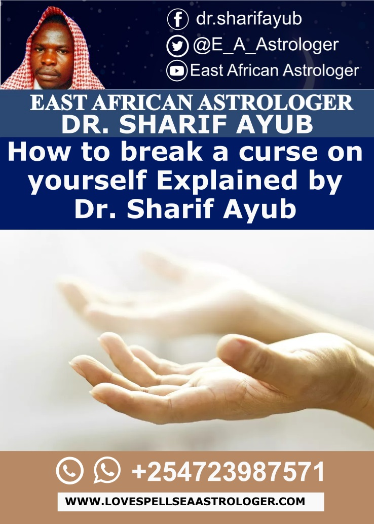 How to break a curse on yourself Explained by Dr. Sharif Ayub