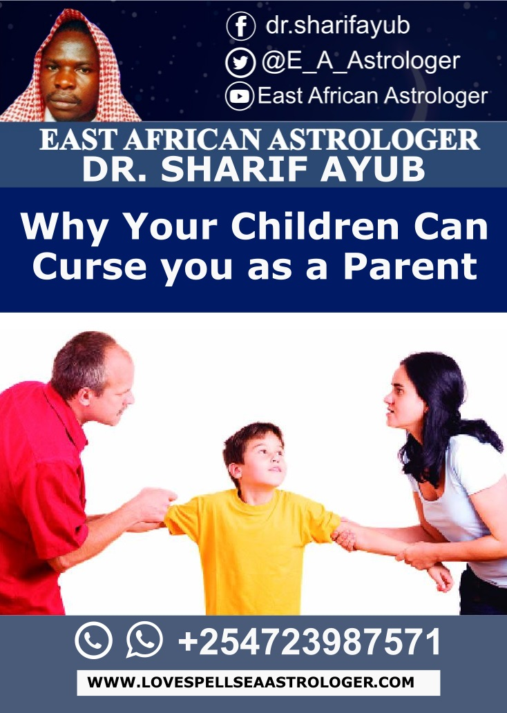 Why Your Children Can Curse you as a Parent