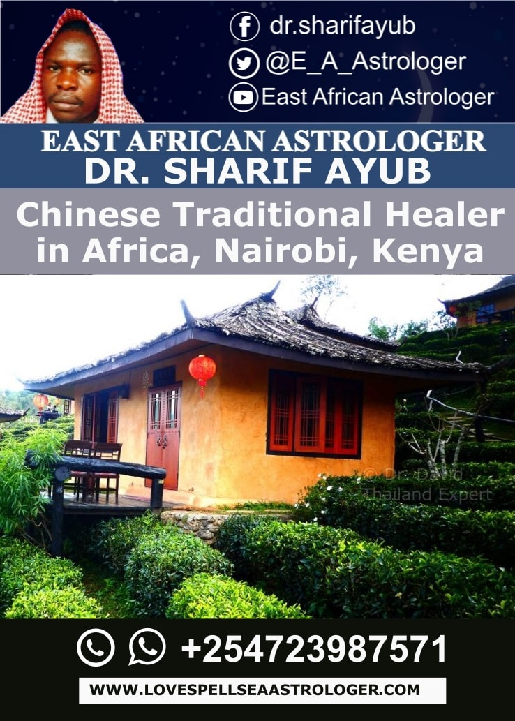 Chinese Traditional Healer in Africa, Nairobi, Kenya