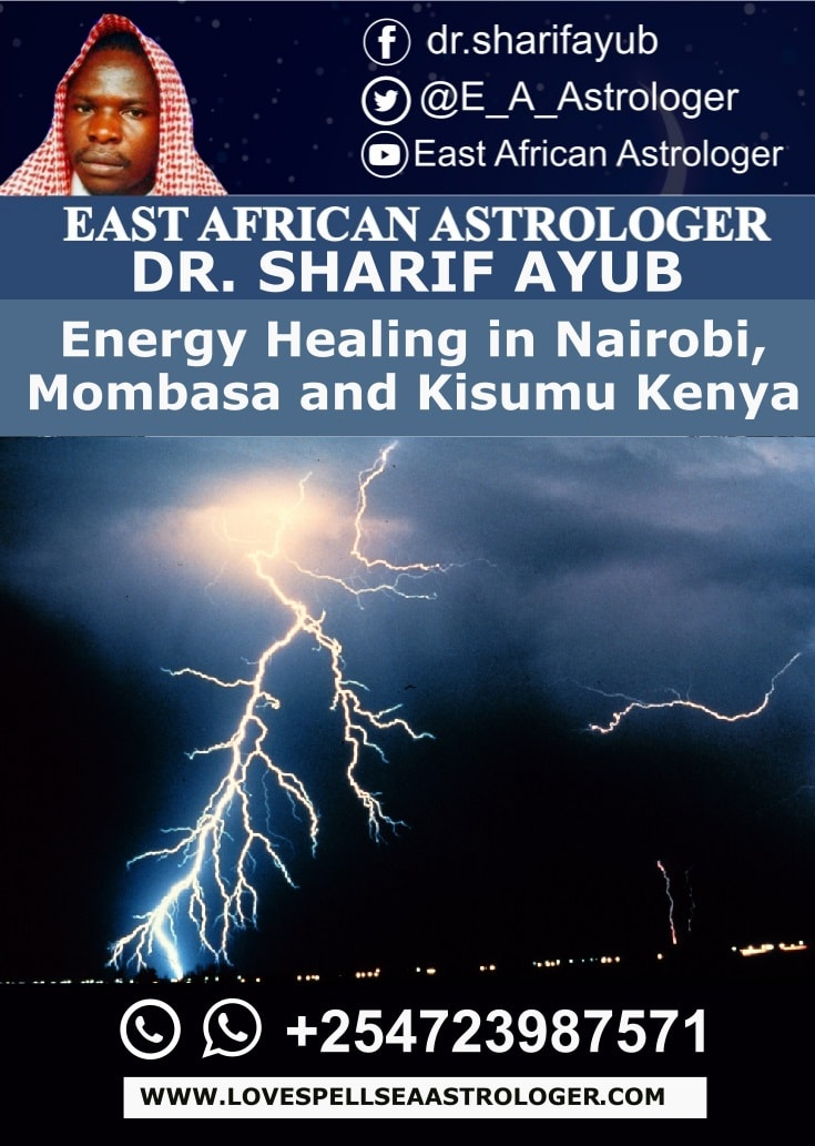 Energy Healing in Nairobi, Mombasa and Kisumu Kenya