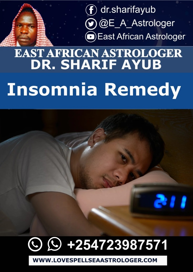 Traditional Insomnia Remedy by Dr. Sharif Ayub