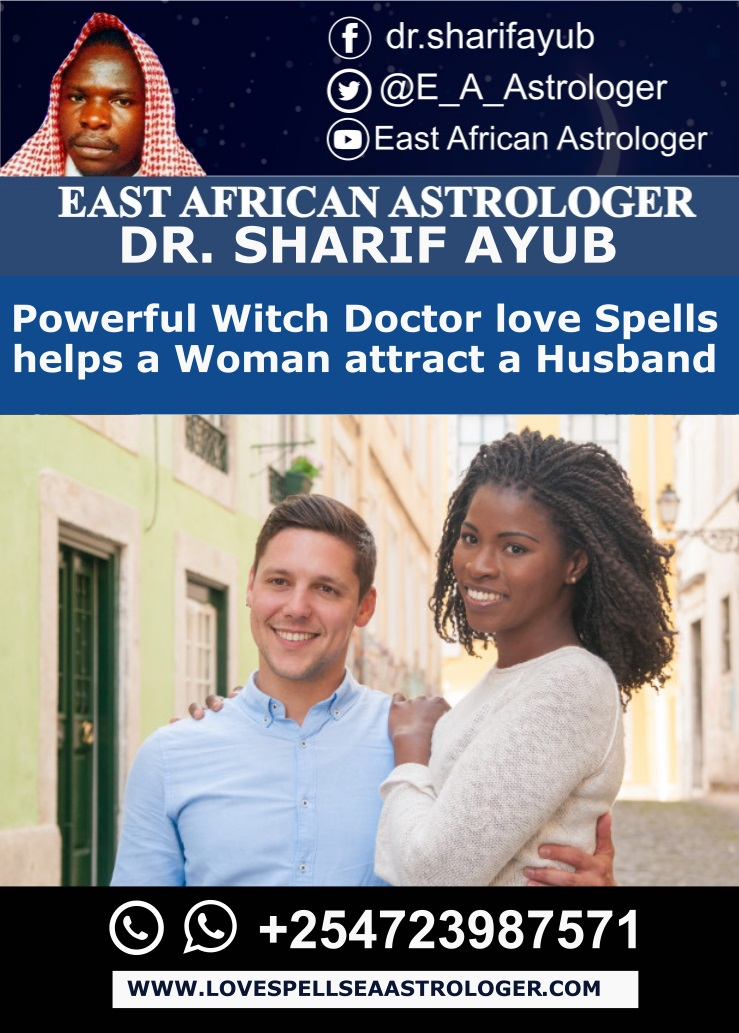 Powerful Witch Doctor love Spells helps a Woman attract a husband