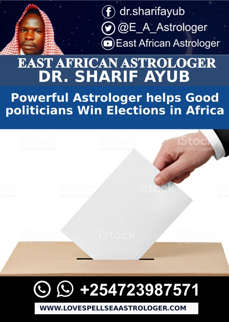 Powerful Astrologer helps Good politicians Win Elections in Africa