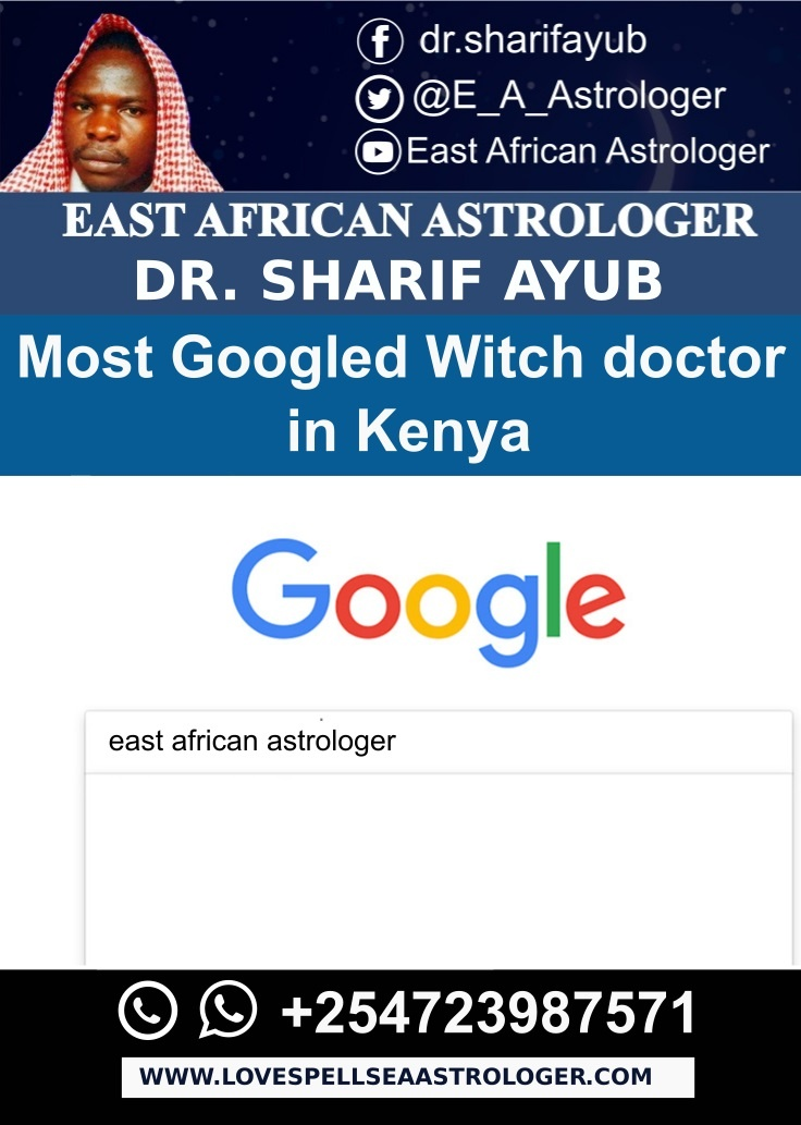 Most Googled Witch doctor in Kenya